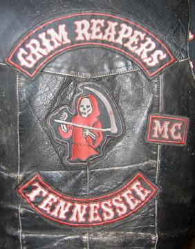 Vintage Motorcycle Club Vest Peacemakers 2   Motorcycle